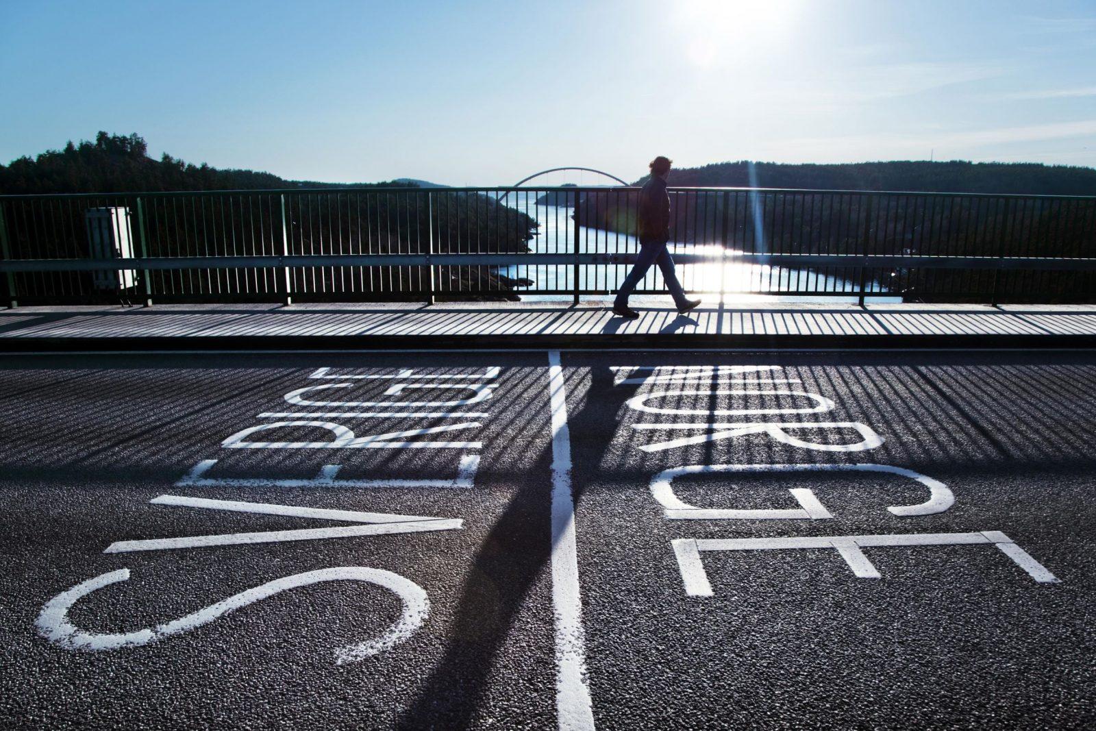Boarder between Sweden and Norway